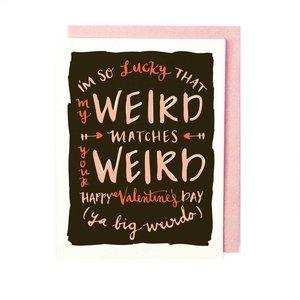 Card | Weird Match Valentine