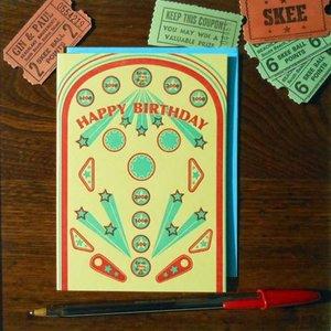 Favorite Design Card | Retro Pinball