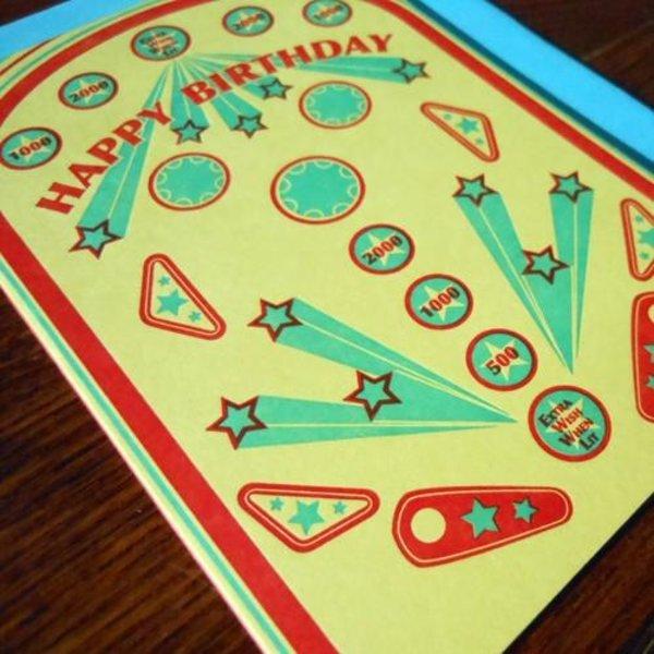 Card | Retro Pinball