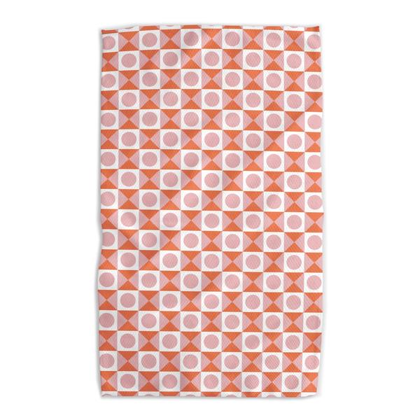 Geometry House Tea Towel   Microfiber   Cross Your Heart