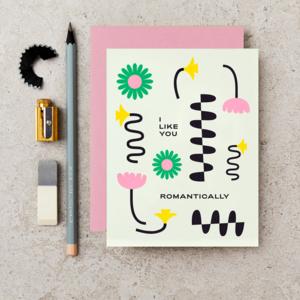 Card | I Like You Romantically