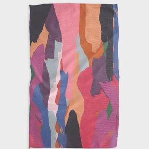 Geometry House Tea Towel | Microfiber | Jewel Tone Abstract