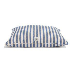 Dog Bed | Stripe Envelope | Blue Small