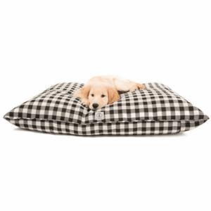 Harry Barker Dog Bed | Buffalo Check | Black Small