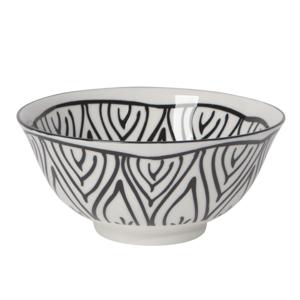 Now Designs Stamped Bowl | Black Bloom