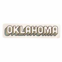 Stickers Northwest Sticker   Oklahoma   Green Shadows