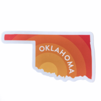 Stickers Northwest Sticker | Oklahoma Sunrise