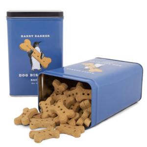 Harry Barker Dog Biscuit Tin | Blue Penguin