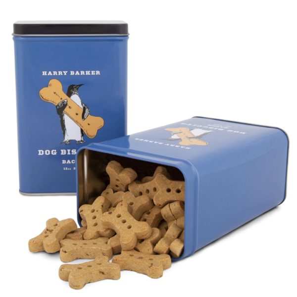 Dog Biscuit Tin | Blue Penguin