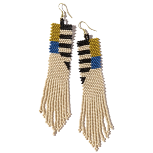 "Earring | 5"" Fringe 