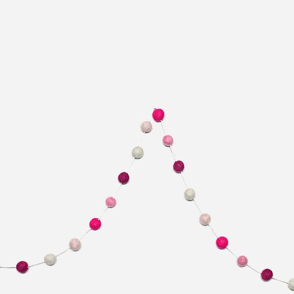 Giftsland Felt Ball Garlands | Small