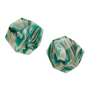 MACHETE Earrings | Sculpture Studs | Stromanthe