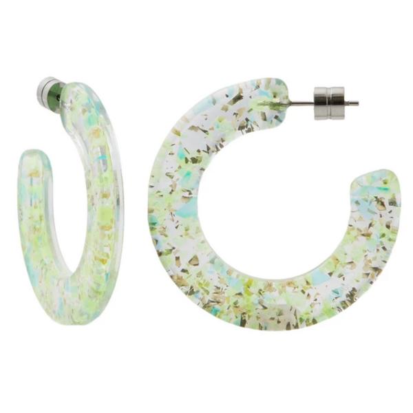 MACHETE Earrings | Kate Hoops