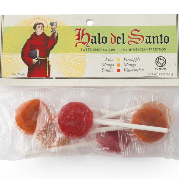 Halo del Santo Lollipops | Sweet & Spicy