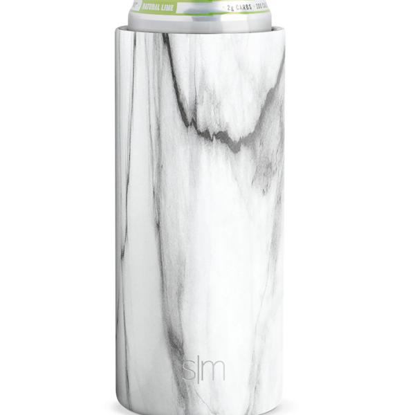 Ranger Slim Can Cooler | Carrara Marble