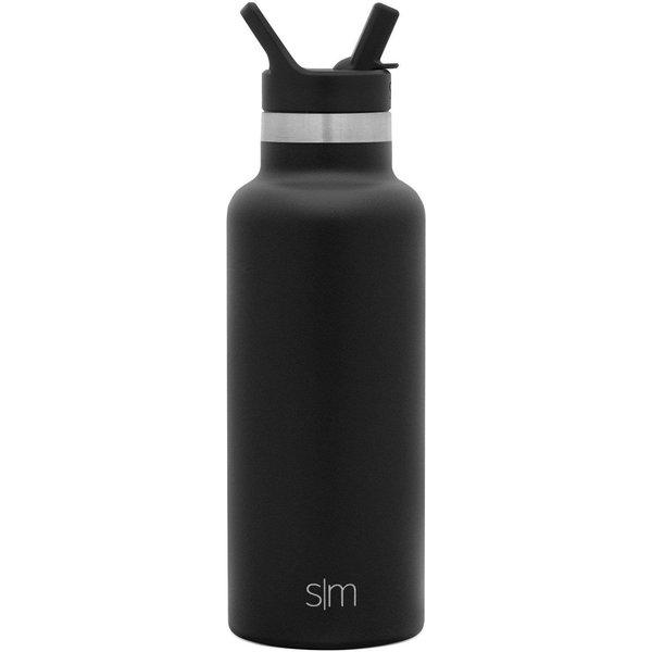 Ascent Water Bottle   Midnight Black   12oz