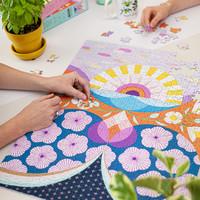 Seltzer Goods Puzzle | 500pc | Sunshine Flowers