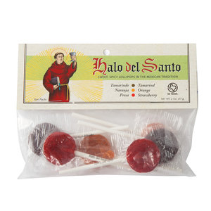 Halo del Santo Lollipops   Sweet & Spicy