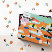 Seltzer Goods Puzzle | 1000pc | Sushi