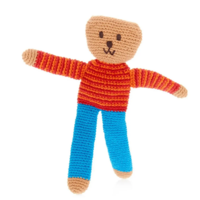"Pebble Crochet Toy | ""Flipps"" Bear"