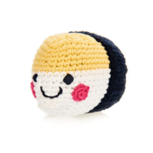 Pebble Crochet Rattle | Sushi Omelette