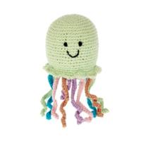 Pebble Crochet Rattle | Jellyfish