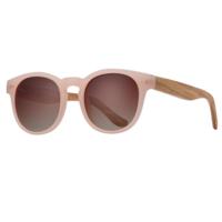 Sunglasses | Dev | Matte Pink / Zebra Wood