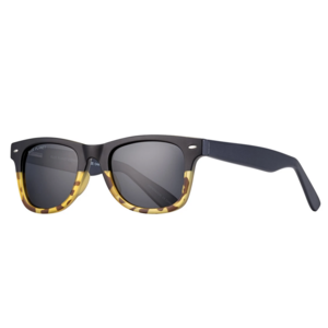 Sunglasses | Wallace | Matte Black + Honey Tortoise