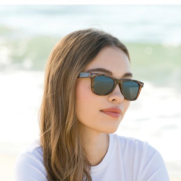 Sunglasses | Wallace | Matte Black + Honey Tortoise