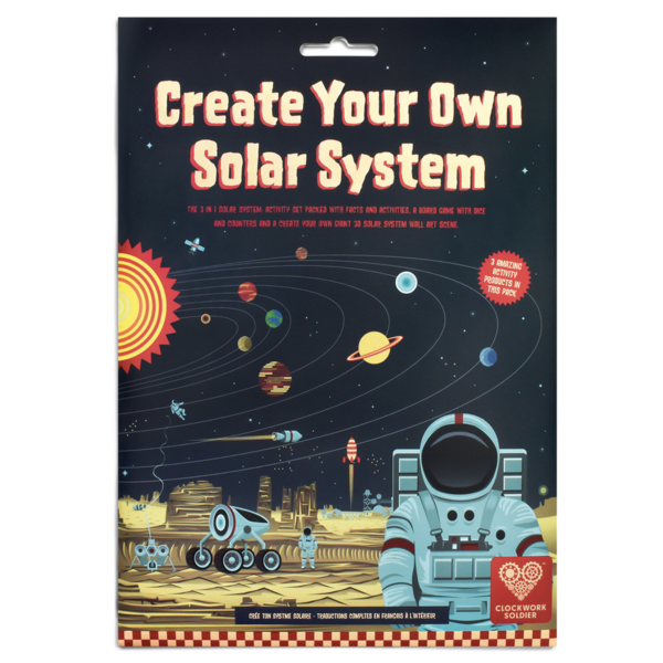 Clockwork Soldier 3D Solar System | Create Your Own