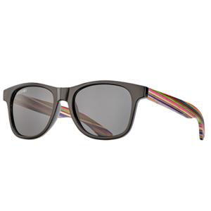 Blue Planet Eyewear Sunglasses | Indio | Black + Rainbow Wood