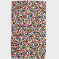 Geometry House Tea Towel | Microfiber | Pixel Confetti