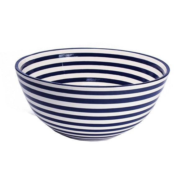 Large Ceramic Bowls | Stripe
