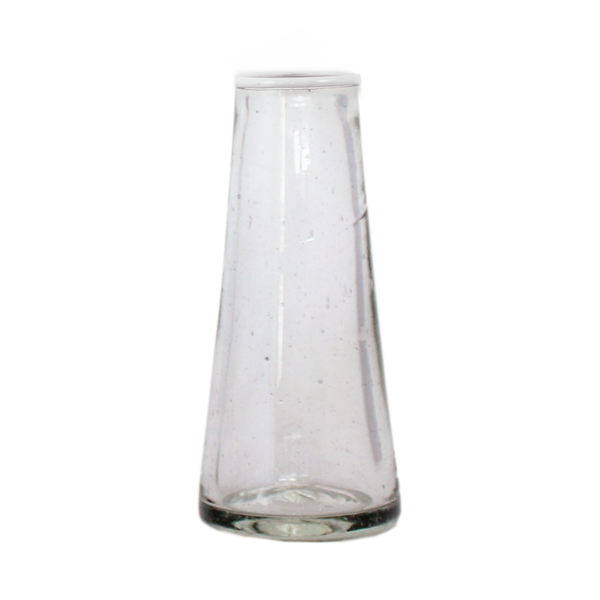 Glass Conical Vases | Small Rim