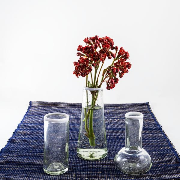 Glass Bulb Vases | Small Rim