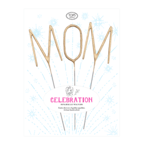Tops Malibu Big Sparkler Wand Set | Gold MOM