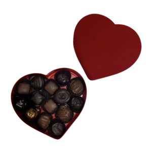 Rick's Fine Chocolates & Coffees Assorted Chocolates | Boxed Heart