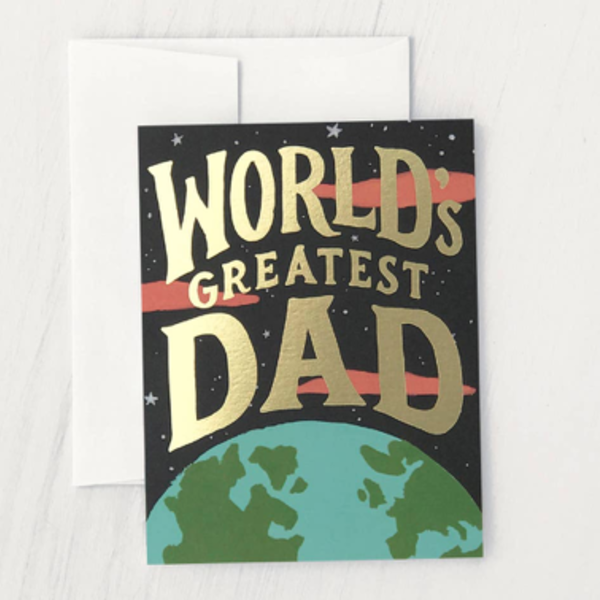 Card   World's Greatest Dad