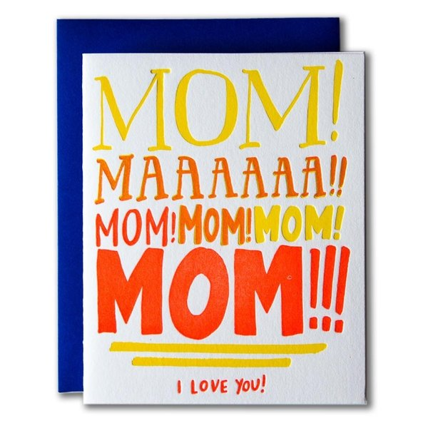Card | Mom Yelling