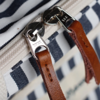 Business & Pleasure Premium Cooler Bag | Navy Stripe