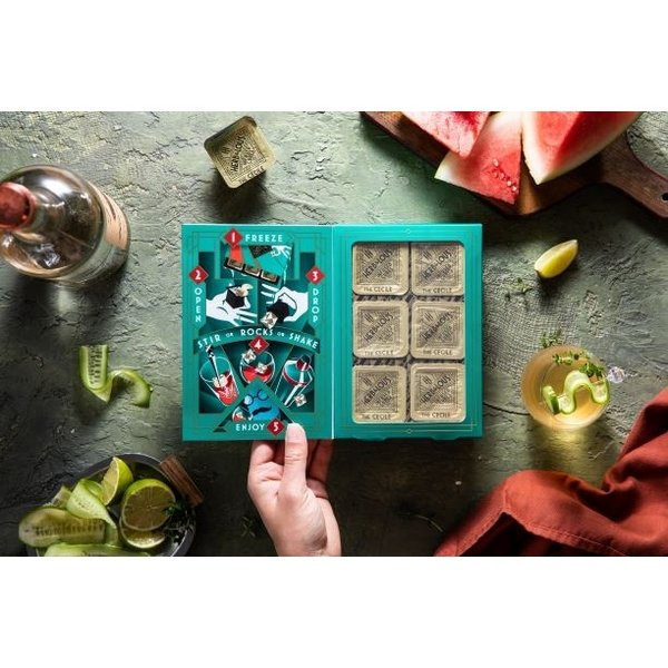 Infused Cocktail Cubes | 6-Pack