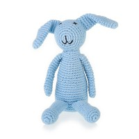 Pebble Crochet Rattle | My First Bunny