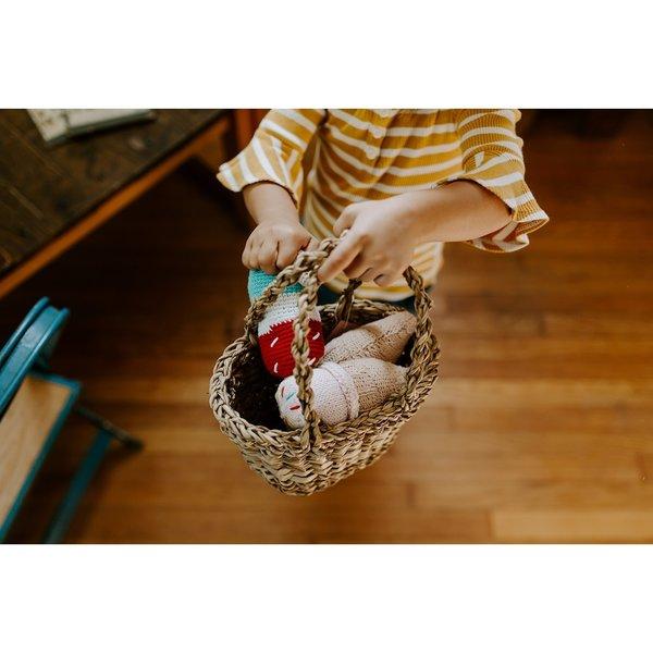Pebble Crochet Rattle   Popsicle