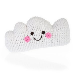 Pebble Crochet Rattle | Cloud