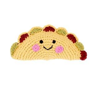 Pebble Crochet Rattle | Taco