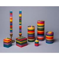 Taper Candle Set | Memphis Stripe