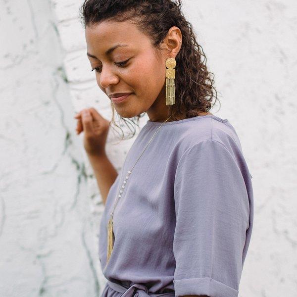 Fringe Earrings | Queen