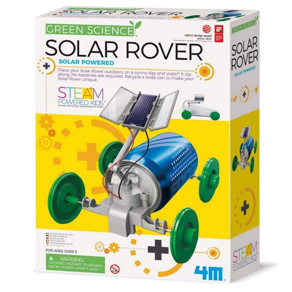 Toysmith Group Kit   Solar Rover