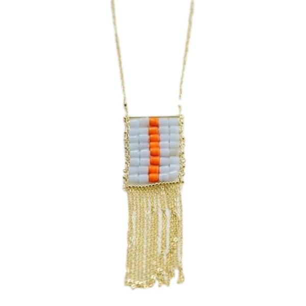 Necklace   Florentina Orange