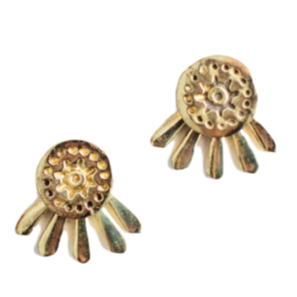 Earrings | Sunshine Gold Studs